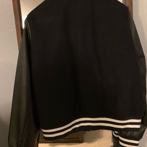 Levi's Jackets & Coats - Levi's Black Letterman/Varsity Jacket